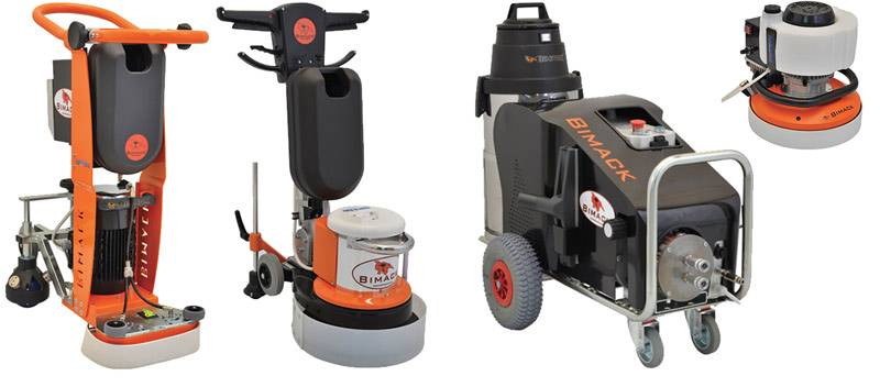 Floor Grinding & Polishing Machines professional Floor Grinding and Polishing machines for any kind of floor (marble, concrete, granite and more)